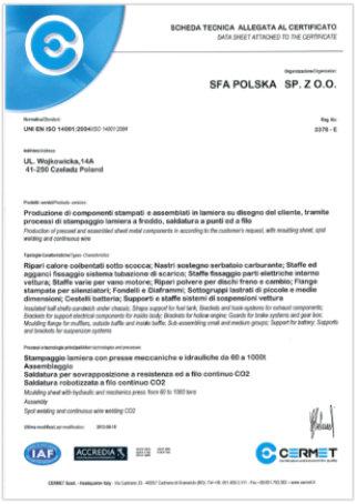 ISO 14001 Allegato